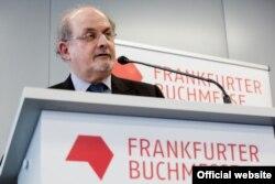 Salman Rushdie (© Marc Jacquemin/Frankfurt Book Fair)