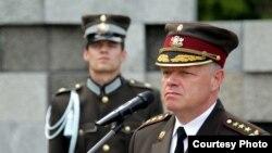 Генерал-лейтенант Раймонд Граубе, командувач збройними силами Латвії