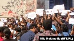 Протести на Муслиманското братство во Египет.