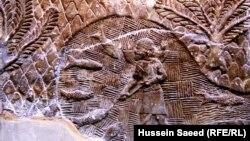 من اثار نينوى من مقتنيات المتحف البريطاني (من الارشيف)