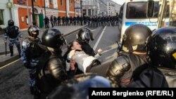 Задержания в Москве 10 августа 2019