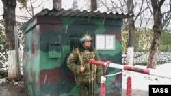 Из российского в Южной Осетии - только миротворцы