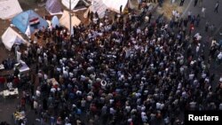 إعتصام للصحفيين المصريين في ميدان التحرير
