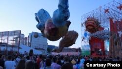 Уличный театральный фестиваль в Перми