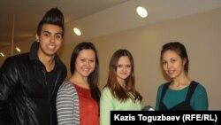 """Молодые прихожане церкви """"Новая жизнь"""". Алматы, 28 января 2013 года."""