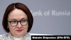 Ռուսաստանի Կենտրոնական բանկի նախագահ Էլվիրա Նաբիուլինան, Մոսկվա, արխիվ, 7 փետրվարի, 2020թ.