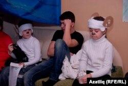 Раштуага килгән кырымтатар балалары