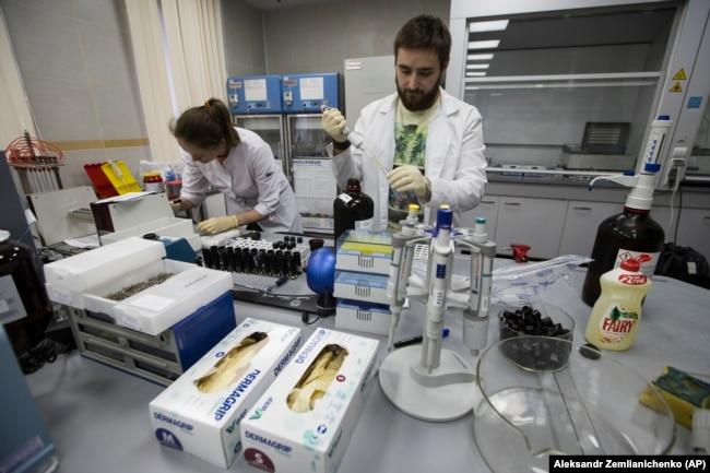 Московская антидопинговая лаборатория, май 2016 года