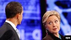 Аз байни Обама ва Клинтон бояд як нафар номзад аз Ҳизби демократ дар интихобот бошад