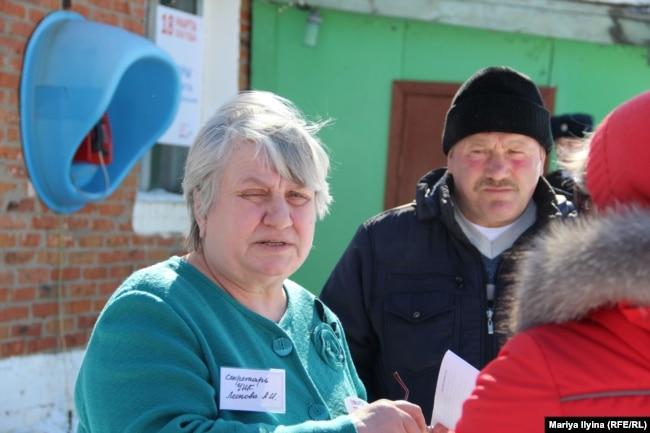 День выборов в Дувановке