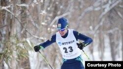 Казахстанский лыжник Ринат Мухин на зимних Азиатских играх в Саппоро. 21 февраля 2017 года.