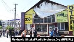Последствия пожара в гостинице «Токио Стар», Одесса