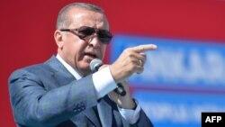 Реджеп Тайїп Ердоган хоче нового наступу на сирійських курдів, союзників США