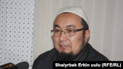 Kyrgyz Mufti Chubak-Hajji Jalilov (file photo)
