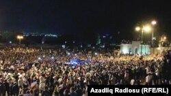 Orduya dəstək aksiyası, Bakı, 14 iyul 2020