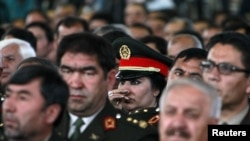 Карзаи дәүләт хәрби академиясендә чыгыш ясаганда Әфганстанның җиде өлешендә иминлекне саклау җирле армиягә тапшырылачагын әйтте