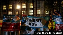 Londonda parlamentin qarşısı
