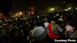 Митинг против фальшивых выборов в Тюмени 10 декабря 2011 года