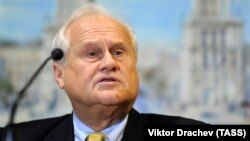 Martin Sajdik, the OSCE special representative in Ukraine (file photo)