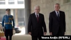 Beograd: Susret Josipovića i Nikolića