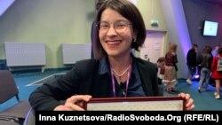 Ірина Славінська отримала нагороду «за відданість трансформації культурної журналістики та суспільних медій»