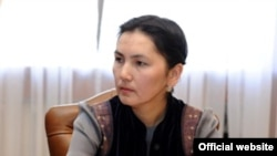 Генпрокурор КР Аида Салянова.