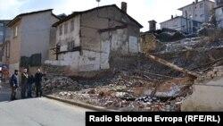 Урнатата куќа на семејството Рамадан во Охрид.