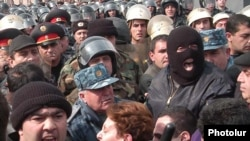 Election protests in Yerevan on March 1, 2008