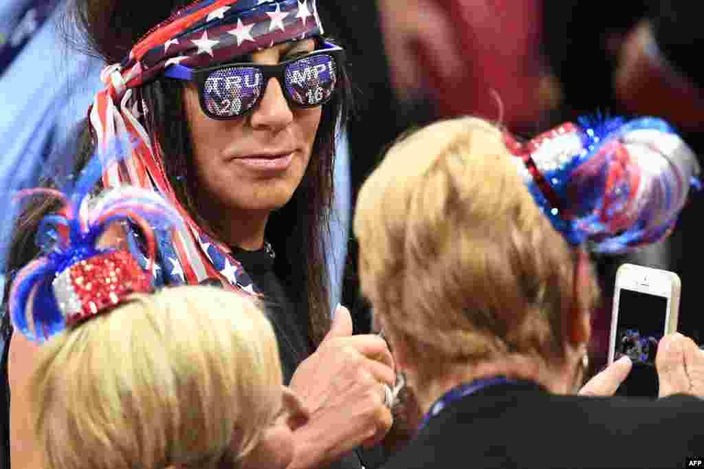یکی از هواداران حزب جمهوریخواه