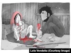 Иллюстрация барселонской художницы Лолы Вендетты