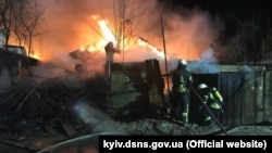 Пожежа в приватному секторі Києва, 8 квітня 2019 року