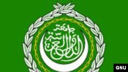 The flag of the Arab League