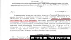 Виступ російських артистів у Керчі за 5 мільйонів рублів забезпечувало ТОВ «Ультра Продакшн»