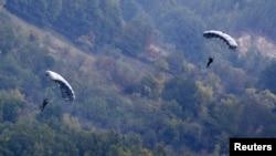 Policijska vježba Srbije i RS, Bajina Bašta, oktobar 2013.