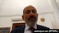 Armenia -- Prime Minister Nikol Pashinian comments on the wiretapping scandal in a live Facebook broadcast, Yerevan, 11Sep2018