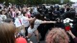 Жаночы Гранд-марш. Менск. 29 жніўня.