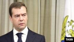 Prezident Medvedev Rusiyanın Ukraynaya qarşı sanksiya tətbiq edəcəyini deyir