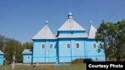 Царква XVII стагодзьдзя ў Давыд-Гарадку Столінскага раёну