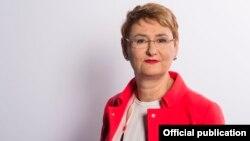 NATO spokeswoman Oana Lungescu (file photo)