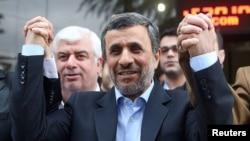 Eýranyň öňki prezidenti Mahmud Ahmadinejad 19-njy maýda geçiriljek prezidentlik saýlawlaryna dalaşgär hökmünde hasaba alyndy, Tähran, 12-nji aprel, 2017