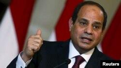 ژنرال عبدالفتاح السیسی، رییسجمهوری مصر