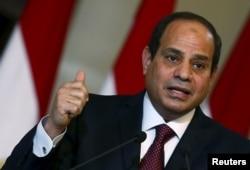 Нынешний президент Египта Абдель-Фаттах ас-Сиси