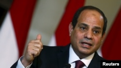 Egyptian President Abdel Fattah al-Sisi (file photo)