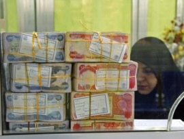 Inflation block the Iraqi currency