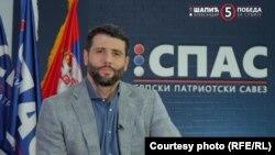 Aleksandar Šapić, predsednik Srpskog patriotskog saveza (SPAS), treći put bori se za vlast u najmnogoljudnijoj opštini u Srbiji