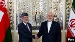 Omani Foreign Minister Yusuf bin Alawi has arrived in the Iranian capital of Tehran amid heightened tension between Iran and the US