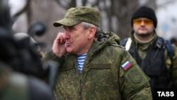 Российский генерал Александр Ленцов, представлявший Россию в СЦКК