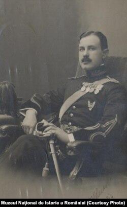 Ofițer român la începutul Primului Război Mondial