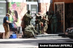 Донецк. 1 июля 2014 года