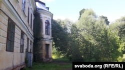 У такім стане палац Валовічаў цяпер